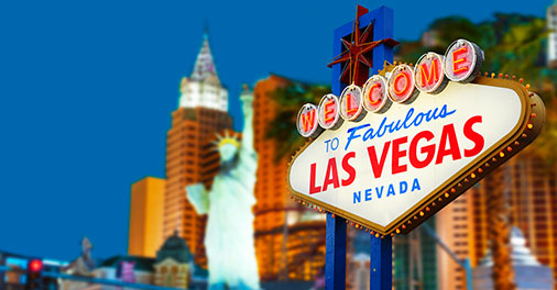 Most-booked hotels in Las Vegas in the past month