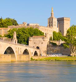 The city of Avignon
