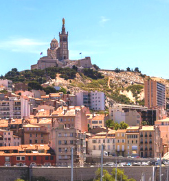 The old city of Marseille
