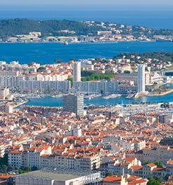View of Toulon