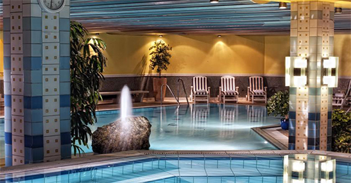 Perfect Indoor Swimmingpool Hotel Radisson Blu Badischer Hof Baden Baden