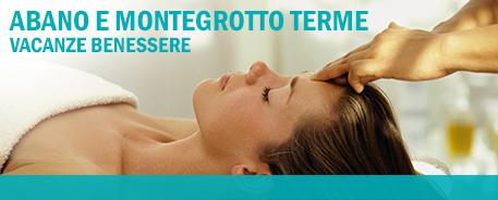 Goditi le acque termali di Abano e Montegrotto, vicino a Padova