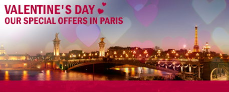 Book your ideal hotel in Paris for Valentine's Day