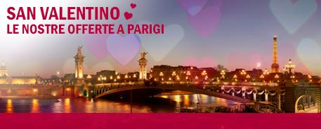 Trova il tuo hotel ideale a Parigi per San Valentino